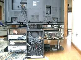 how to organize cables under desk organize wires organize wires behind entertainment center momsclup com