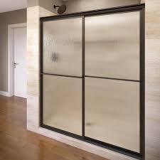 1000 Sliding Shower Door Basco Deluxe 46 1 4 In X 68 In Framed Sliding Shower Door In