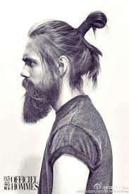 haircuts for men with long curly hair 33 man bun hairstyle ideas inspirationseek com