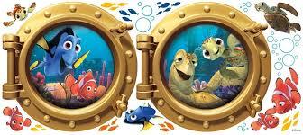 Disney Bathroom Accessories by Disney Bathroom Decor Shower Curtain Art Of Animation Finding Nemo