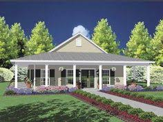 wrap around back porch one story house houses with porches