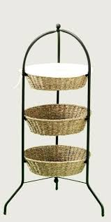 3 tier fruit basket seagrass towers 3 tier stand tiered basket stand 2 tier