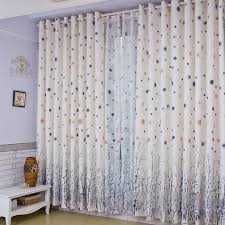 Buy Discount Curtains Dreamy White Polka Dots Tree Printing Thermal Curtains Buy White