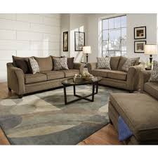 Albany Sectional Sofa Simmons Upholstery Albany Truffle Sofa Chaise Free Shipping