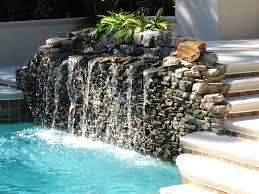 pool water fountain design ideas small swimming pool fountain