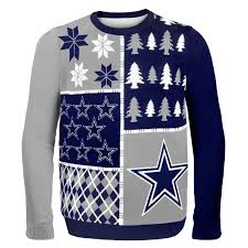 cowboys sweater nfl busy block sweater dallas cowboys awesome