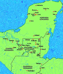 mayan empire map archaeology of the ancient mayan civilization of mesoamerica the