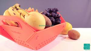 modern fruit basket for smart use in kitchen youtube