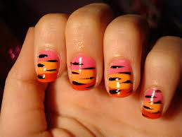 detroit tigers nailssuper cute wish i could do the old english