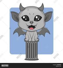 Cute Halloween Monster by Cute Gargoyle Halloween Monster Mascot Stock Vector U0026 Stock Photos