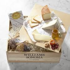Cheese Gift Box Taste Of Europe Cheese Gift Crate Williams Sonoma