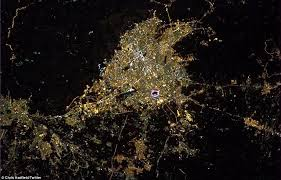 tehran satellite map astronauts breath taking views of earth from space showing