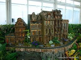 Train Show Botanical Garden by The Holiday Train Show Arrives At New York Botanical Garden In The