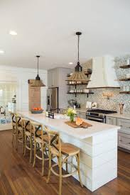 best 25 narrow kitchen island ideas on pinterest small kitchen fixer upper freshening up a 1919 bungalow for empty nesters kitchen with long islandfloating