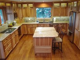 hickory cabinets with granite countertops past projects traditional kitchen portland by quartz