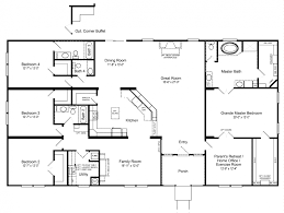 triple wide mobile homes floor plans floor plan triple wide mobile homes nc u shaped house plans with