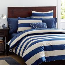 Pb Teen Duvet Pottery Barn Kids Pb Teen Rugby Stripe Duvet Decor Look Alikes