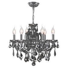 home depot chandelier home decorators collection 6 light chrome crystal chandelier 30331