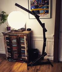 wooden floor lamp industrial floor lamp arc floor lamp