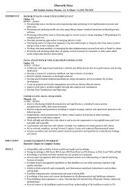 data analytics resume consultant data analytics resume sles velvet