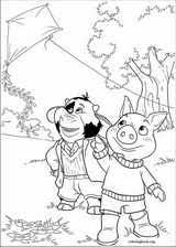 jakers adventures piggley winks coloring pages