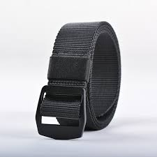 allergic to belt buckle vohio black large size elastic woven belt black buckle anti