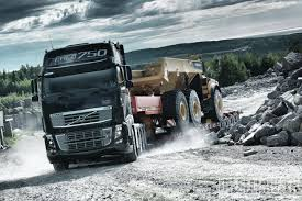 volvo semi january 2014 industrial power volvo fh16 750 diesel power magazine
