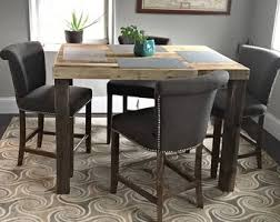 Counter Height Table Etsy - Height of kitchen table