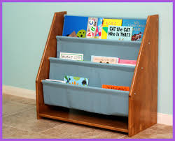 Sling Bookcase White by Peaches And Bees Sling Bookshelf For Little Momo