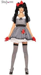 Doll Dress Halloween Costume Wind Doll Costume Gloves Costumes Dolls