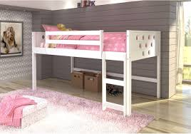 Bedroom Donco Kids Loft Twin Bed With Slide Mission Style Bunk Beds - Loft style bunk beds