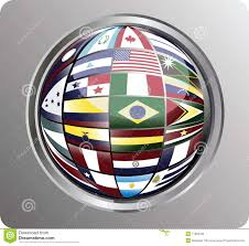 Latin American Flags North Central And South America Flags Stock Vector Image 11066795