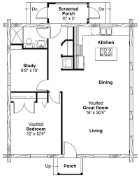 one bedroom one bath house plans simple one bedroom house plans home plans homepw00769 960