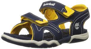 timberland adventure seeker 2 boys sandals navy yellow boys u0027 shoes
