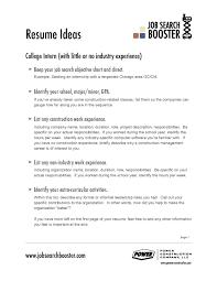 Job Objective Statement For Resume Career Objective Example Resume Free Resume Example And Writing