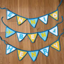 Pretty Bunting Flags Bright Beautiful Bunting U2013 Free Crochet Pattern U2013 Creating Time