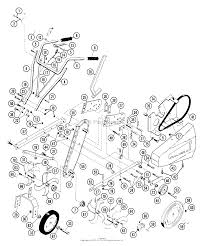 briggs and stratton 5 hp tiller parts diagram briggs and stratton