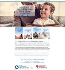 Texas travel web images Osky blue creates new web design for medical practice in longview png