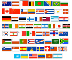 World Map Country Flags Flags Around The World Free Download Clip Art Free Clip Art