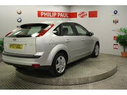 used ford focus tdci used ford focus 2007 diesel 1 6 tdci style 5dr hatchback silver