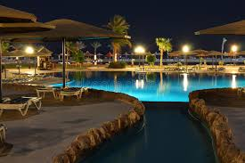 Pool At Night Hotel Water Pool At Night Royalty Free Stock Image Image 12371596