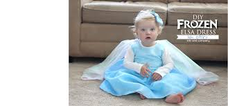 Elephant Halloween Costume Baby Diy Frozen Elsa Dress Baby Edition Free Tutorial Kiki U0026 Company