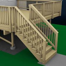 Porch Stair Handrail How To Build Deck Stair Railing 3337