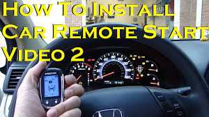 how to install car remote start alarm wiring video 2 youtube