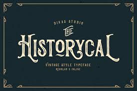 vintage design 25 best vintage fonts fonts graphic design junction