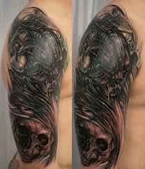 3 cover tribal skull by 2face on deviantart