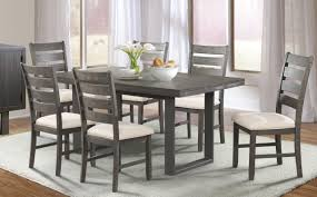 side chairs for dining room elements international sawyer dining table u0026 6 side chairs great
