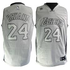 cheap adidas nba los angeles lakers 24 kobe bryant swingman grey