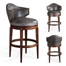 contemporary leather swivel bar stools with back bar stools with
