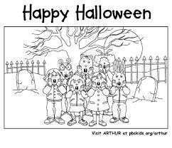arthur halloween pbs kids